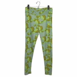 LuLaRoe Kiwi Fruit Print Leggings